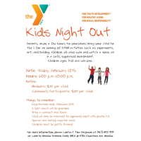 Kid's Night Out - YMCA