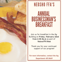 Neosho FFA's Annual Businessman's Breakfast