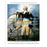 "George Washington's ""Rules of Civility and Decent Behaviour in Company and Conversation"""