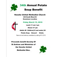 34th Annual Potato Soup Benefit