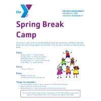 Spring Break Camp - The YMCA