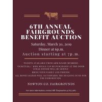 6th Annual Fairgrounds Benefit Auction