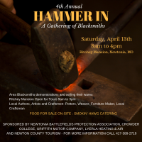 4th Annual Hammer In a Gathering of Blacksmiths