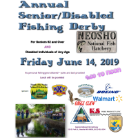Annual Senior/Disabled Fishing Derby