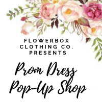 Prom Dress Pop-Up Shop