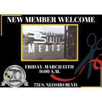 Ribbon Cutting New Member Welcome- Spring Street Meats