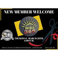 Ribbon Cutting/New Member Welcome - RISE365