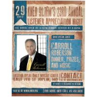 KNEO Annual Listener's Appreciation Night