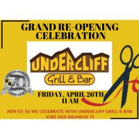 Grand Opening - Undercliff Grill & Br