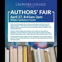 Authors Fair at Crowder College