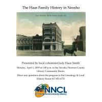 The Haas Family History in Neosho