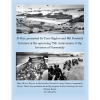 D-Day Presented by Tom Higdon & Bill Doubeck
