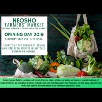 Opening Day Neosho Farmer's Market