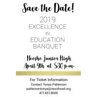 2019 Excellence in Education Banquet