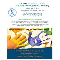 Child Abuse Awareness Event