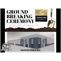 Ground breaking for Signature Interior Expressions (new location)