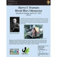 Harry S. Truman: World War 1 Memories