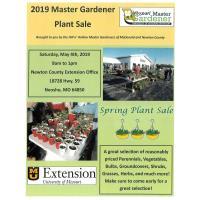 2019 Master Gardener Plant Sale