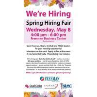 Freeman Spring Hiring Fair