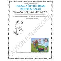Dream a Little Dream Dinner and Dance