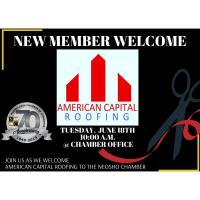 American Capital Roofing Ribbon Cutting