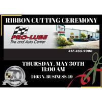 Ribbon Cutting with Pro-Lube