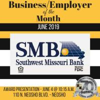 June Business of the Month - Southwest Missouri Bank