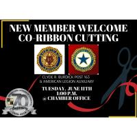 New Member Welcome - Co-Ribbon Cutting