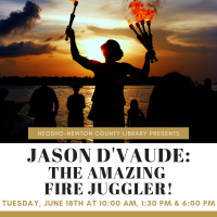 NNCL Presents: Jason D'Vaude: The Amazing Fire Juggler!