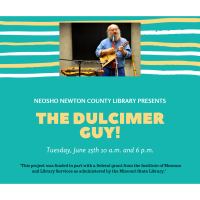 NNCL Presents: Mike Anderson, The Dulcimer Guy