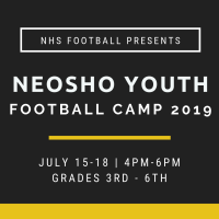Neosho Youth Football Camp 2019