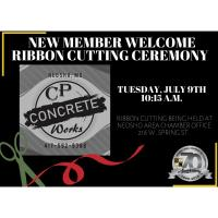 New Member Welcome- CP Concrete Works