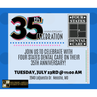 Four States Dental Care's 35th Anniversary Celebration