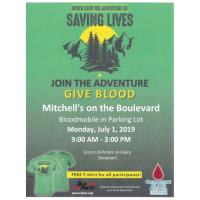 Join the Adventure Give Blood