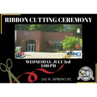 Ribbon Cutting - Neosho-Newton County Library