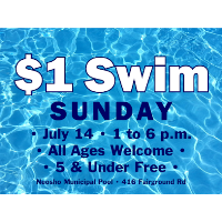 $1 Swim Sunday