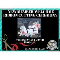 New Member Ribbon Cutting - Flower Box Dance Co, LLC