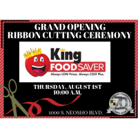 Grand Opening - King Food Saver