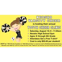 Youth Cheer Clinic Presented by Neosho Varsity Cheer