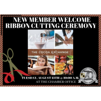 Ribbon Cutting/New Member Welcome - The Cocoa Exchange by Kathi Coates