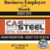 Business of the Month- CAS Steel
