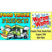 Food Truck Frenzy Featuring Water Wars
