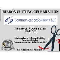 Ribbon Cutting - Communication Solutions, LLC