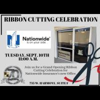 Ribbon Cutting - Nationwide Insurance