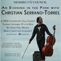 An Evening in the Park with Christian Serrano-Torres
