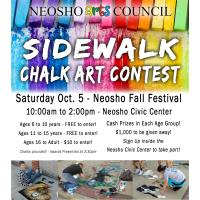 Neosho Arts Council Presents: Sidewalk Chalk Art Contest