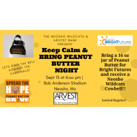 Spread the Hope Peanut Butter Drive 2019
