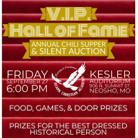 V.I.P. Hall of Fame Chili Supper & Silent Auction