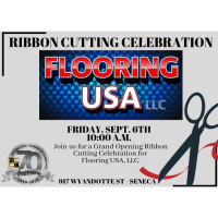Grand Opening Ribbon Cutting Flooring USA, LLC