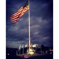 Memorial Ceremony at the Neosho Patriot's Memorial